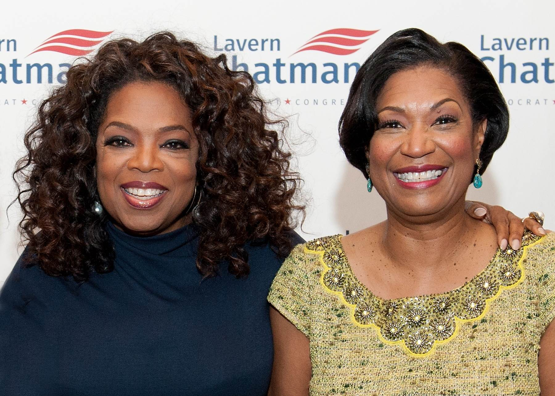 Lavern Chatman and Oprah